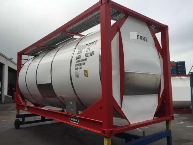 Tank Containers Lpg Tank Containers Cryogenic Tank